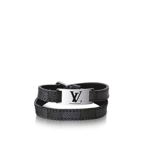 bracelet sign  damier graphite accessoires louis vuitton