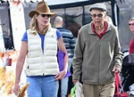 Allison Janney Shops At L.A. Farmers Market With Father ...