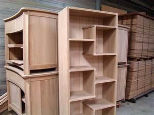 étagère Bois Brut : meuble etagere bois brut ~ Melissatoandfro.com Idées de Décoration