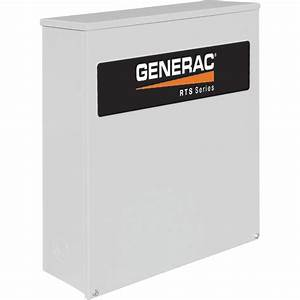 Generac Rts Automatic Generator Transfer Switch  U2014 400 Amp