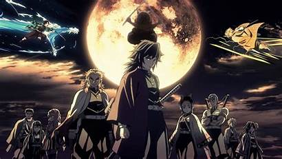Slayer Demon Anime Wallpapers Kimetsu Yaiba Collage