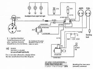 Wiring Diagram For 600 Ford Tractor  U2013 Readingrat Net