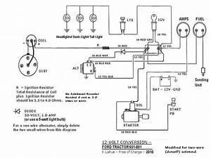 55 Ford 600 Wiring Diagram