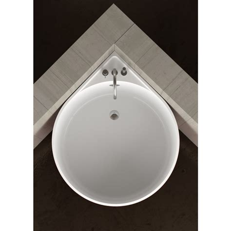 Baignoir Ronde by Baignoire D Angle Ronde Mini White By Glass Design Design
