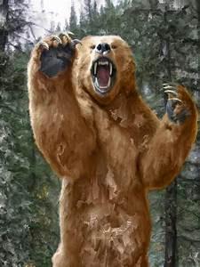 Mad Bear Standing | www.imgkid.com - The Image Kid Has It!