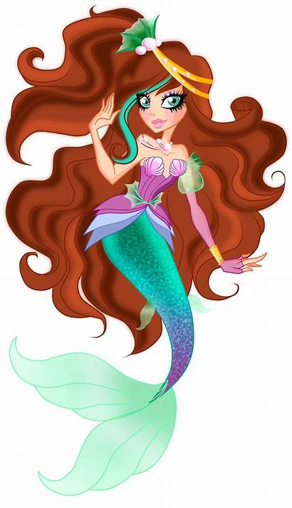 Ever Ariel Niece Calipso Daughter Mermaid Lm