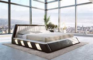 Moderne Betten Mit Led : designer bett lenox mit led beleuchtung von nativo m bel ~ Bigdaddyawards.com Haus und Dekorationen