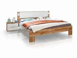 Doppelbett 180x200 Weiß : casy doppelbett 180x200 cm wei plankeneiche ~ Frokenaadalensverden.com Haus und Dekorationen