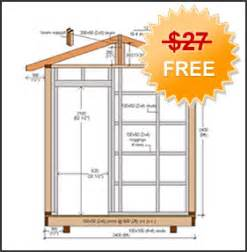 shed plan how to build diy blueprints pdf download 12x16