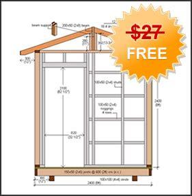 shed plan how to build diy blueprints pdf download 12x16
