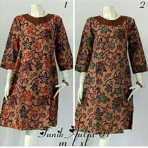 model baju gamis batik terpopuler  model baju