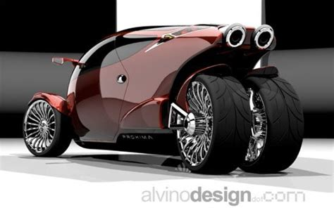 Proxima Concept Trike...never Seen A Trike Like This....i