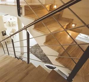 Spot Mural Interieur : spot encastr mural rond led pour clairer une mont e d 39 escalier ou baliser une pi ce ko703r ~ Teatrodelosmanantiales.com Idées de Décoration