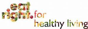 Eat Right For Healthy Living