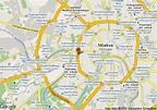 Map of Bega Hotel, Moskva