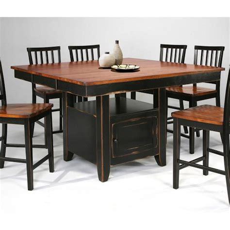 kitchen island dining set intercon arlington kitchen island slat back stools