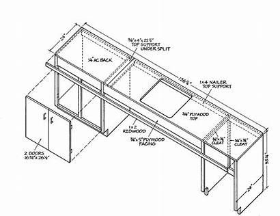 Plans Kitchen Bar Wood Outdoor Pavilion Woodworking