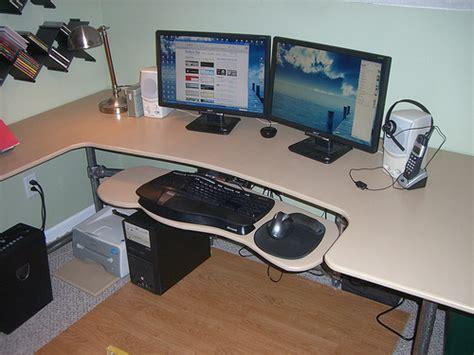 how to build a computer desk how to build a custom ergonomic computer desk