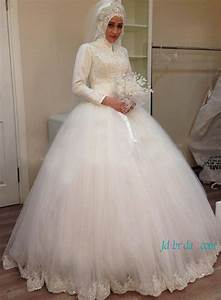 Long sleeve bridal gownscheap lace wedding dresses with for Long sleeve ball gown wedding dress