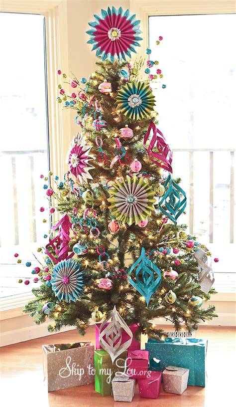 christmas trees decorated christmas tree photo