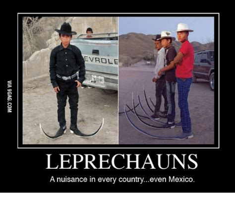 Leprechaun Meme - evrole leprechaun a nuisance in every countryeven mexico leprechaun meme on sizzle