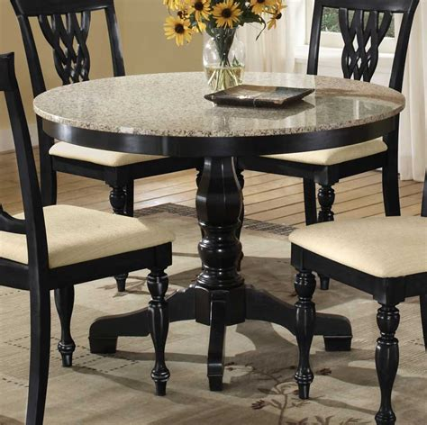 marble and wood dining table 36 inch round pedestal dining table with wooden base