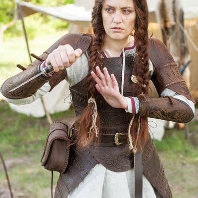 vikings leather armour shieldmaiden