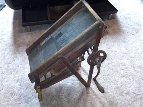 1920's Antique dry Gold SLUICE Box HandMade by