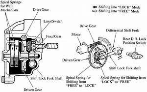 Diff Lock Actuator Diagram