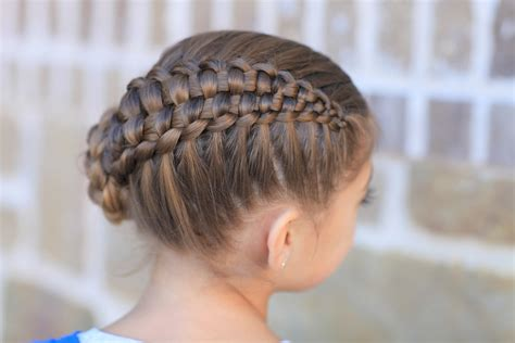 cutegirls hair styles how to create a zipper braid updo hairstyles