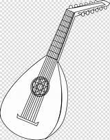 Lute Clipart Ausmalen Zum Instrument Mandolin Musikinstrumente Drawing Svg Alat Musical Luth Gambar Instruments Coloriage Ausmalbilder Clip String Gitarre العود sketch template