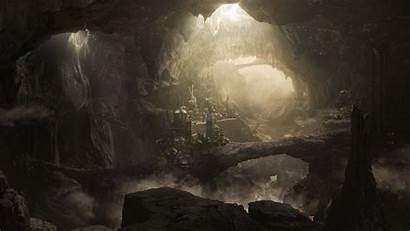 Cave Rock Digital Formation Wallpapers Background Desktop
