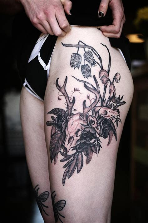 beautiful botanical tattoos  salem witch descendant