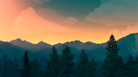 firewatch wallpaper reddit firewatch has your wallpaper needs covered for 2016