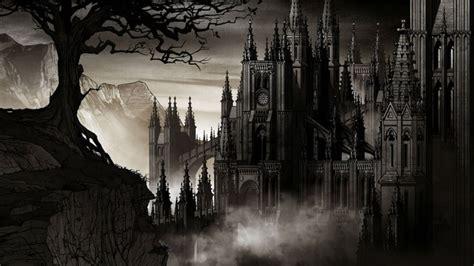 vampire castle high definition wallpaper  baltana
