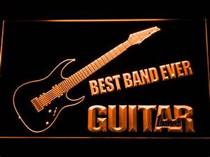 Ibanez Guitar Best Band Ever LED Neon Sign