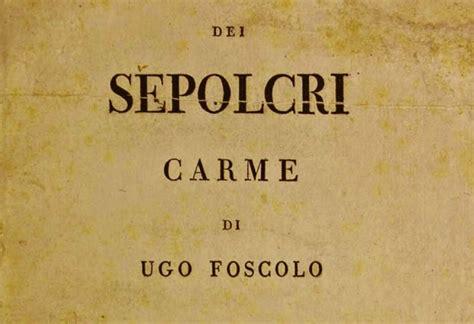 Analisi Testo Foscolo by Dei Sepolcri