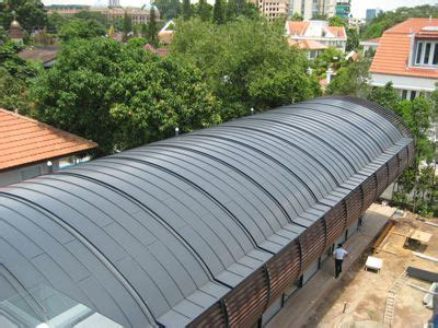 curved standing seam metal roof google search metal