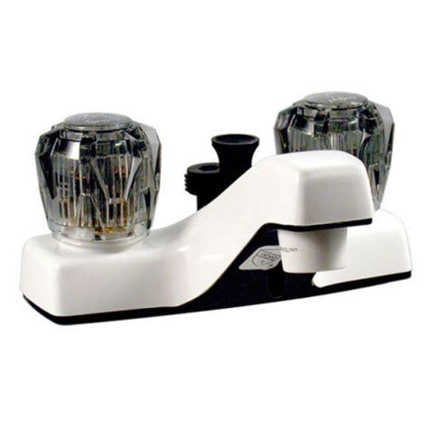faucets 4 quot dual handle rv bathroom diverter faucet