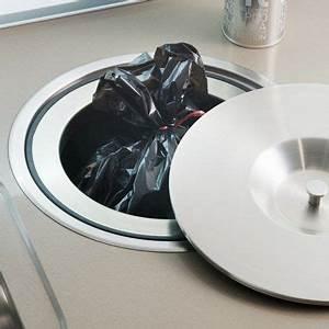 Poubelle De Plan De Travail : une poubelle encastr e pour une petite cuisine darty smart interior architect ~ Melissatoandfro.com Idées de Décoration