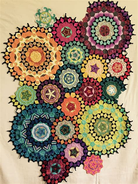 Mille Fiori by My La Passacaglia Quilt From Millefiori Quilts