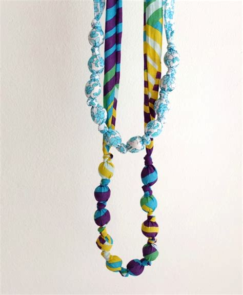 diy patterns  fabric necklaces    style