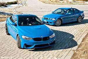 Owner Gets Laguna Seca Blue BMW M4 To Match His E46 M3  Blue