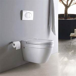 Wall mounted toilets to make your bathroom look modern and for Wall mount toilet