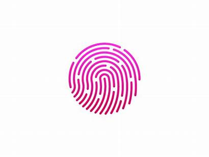 Touch Dribbble Apple Iphone Touchid Logos 5s