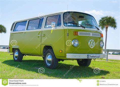 green volkswagen van volkswagen vw cer van antique car green white