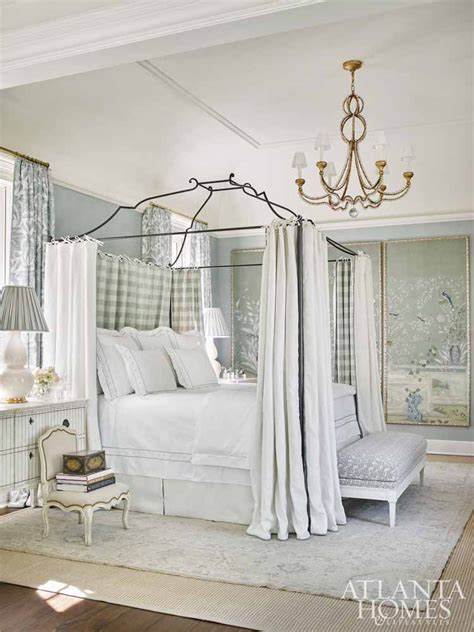 Serene Showhouse Bedrooms by Atlanta Homes Lifestyles 2017 Southeastern Designer