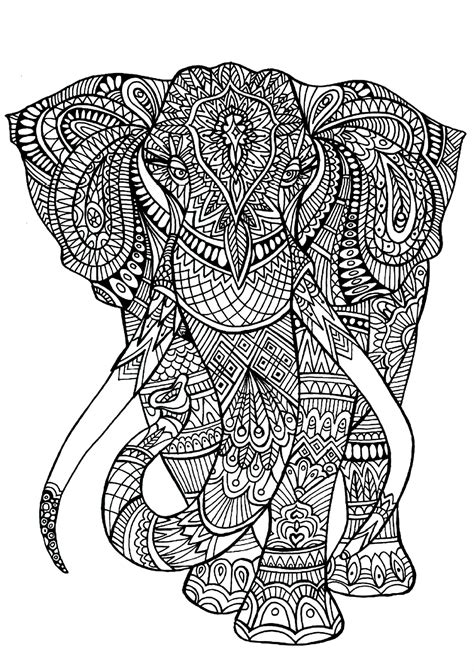 Permalink to Printable Coloring Pages Of Animals For Adults