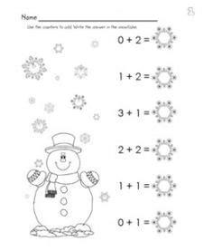 winter worksheets images worksheets winter math