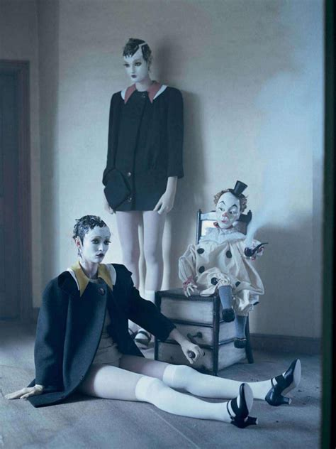 Mechanical Dolls Tim Walker Vogue Italia October